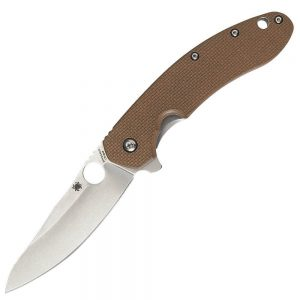 Spyderco Southard Folder G-10 Plain Edge Knifes